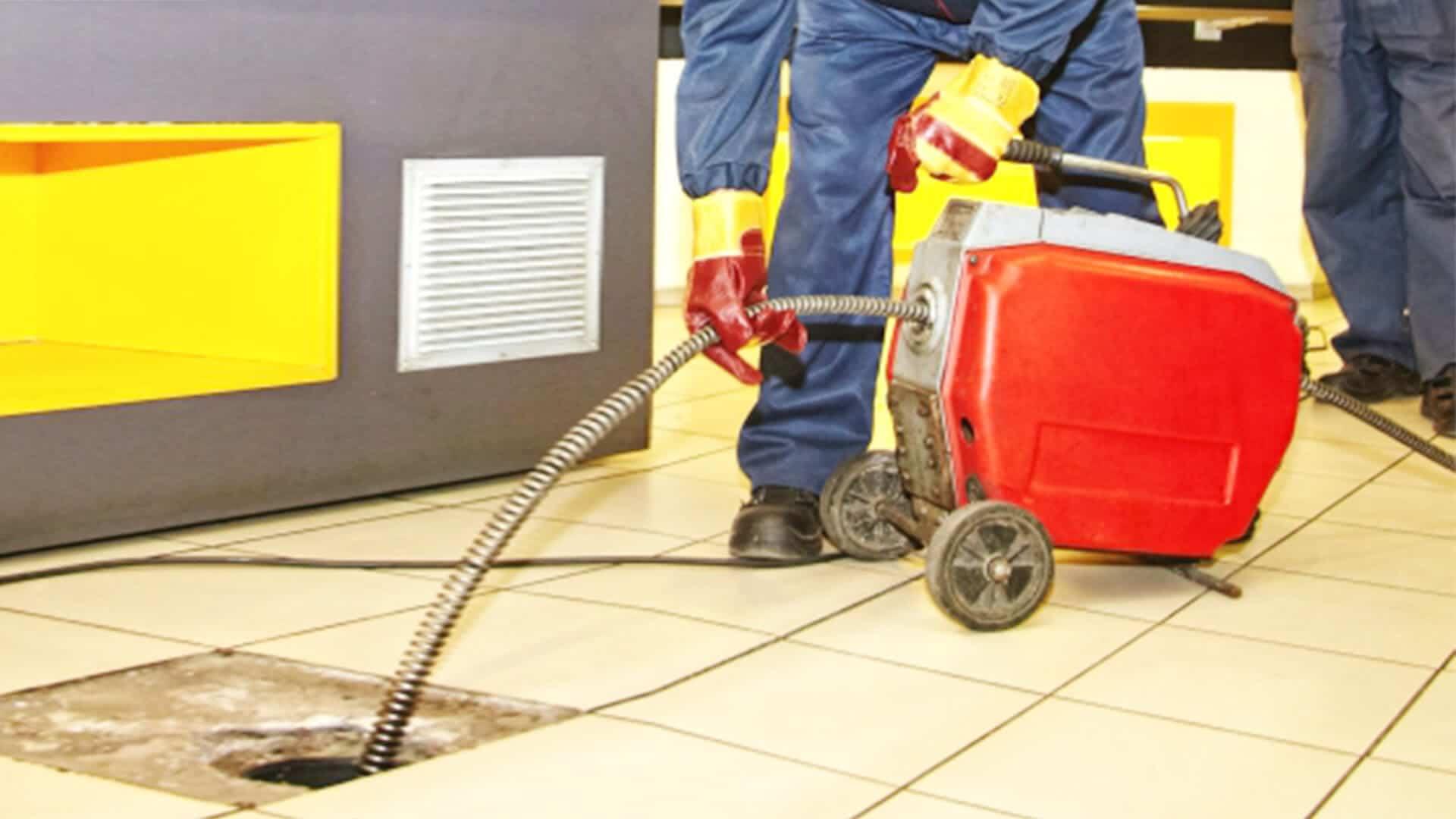 Механічна прочистка каналізації