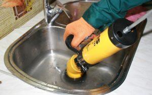 Прочистити раковину на кухні